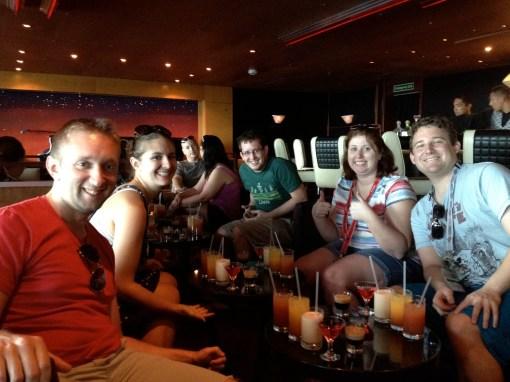 disney cruise mixology class