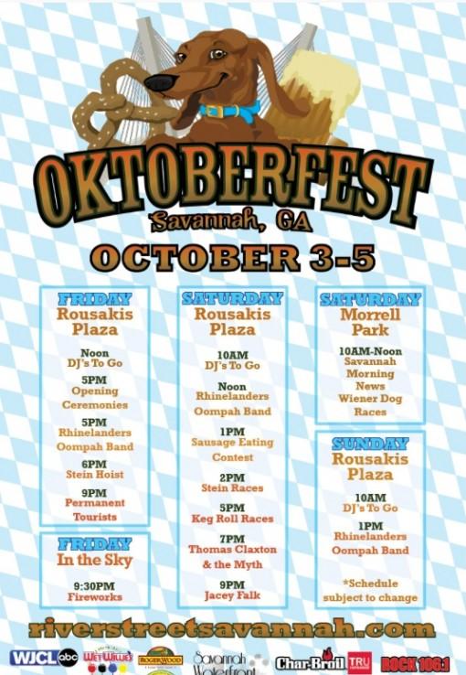 Oktoberfest in Savannah, GA
