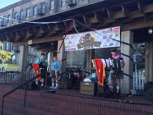 Rhinelanders Oompah Band at Oktoberfest in Savannah, GA