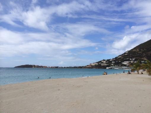Beach in Philipsburg, Sint Maarten
