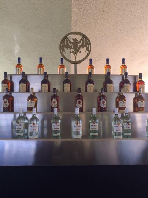 Bar at Casa Bacardi Distillery in San Juan, Puerto Rico