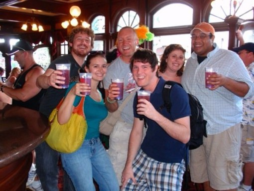 U.K.- Drinking around the world at Epcot