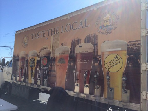 Taste the Local Beer Truck in Richmond, VA