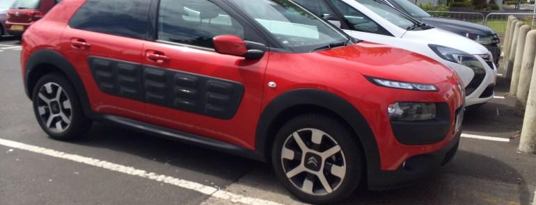 The Cactus - My favorite Scotitsh rental car