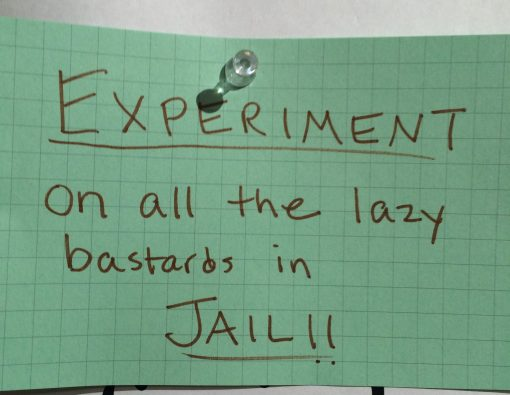 Guest leave comments about their takeaways from a tour of the Eastern State Penitentiary in Philadelphia.
