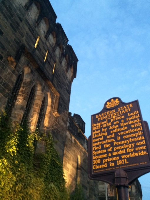 Eastern State Penitentiary in Philadephia, a 200 year old look at the American justice system.