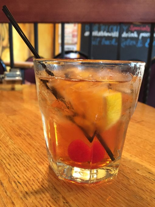 Brandy Old Fashioned, the official cocktail of MIlwaukee