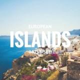 European Must-See Islands