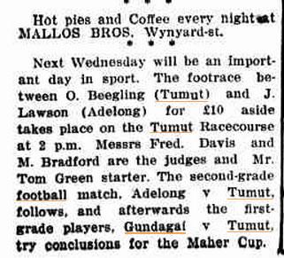 Adelong & Tumut Express Froday 9 July 1920