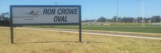Ron Crow Oval, West Wyalong