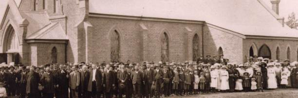 The Zion Lutheran Church Community of Trungley Hall - probably in 1911