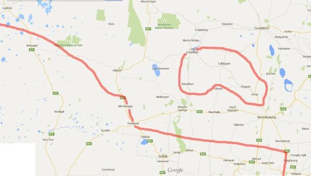 The Jim Keys Line - northern section