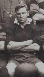 Charles 'Chook'Fraser with in 1927 Gundagai team
