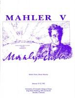 MahlerFext V - 1992 Program Book