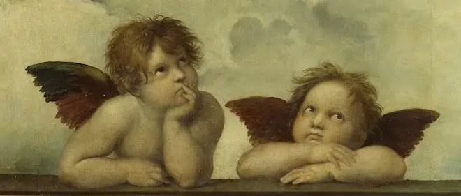 طفل ملاك cherubs