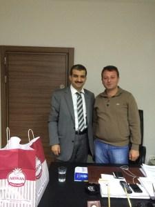 İlçe teskilati Baskanı Hasan ÖZ
