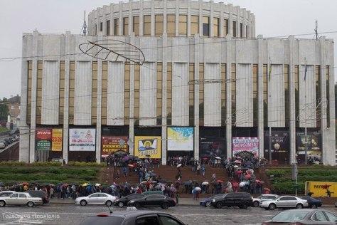 The Ukrainian House, home of Kyiv ComicCon 2016. Photo by Anastasiya Tcesoreva