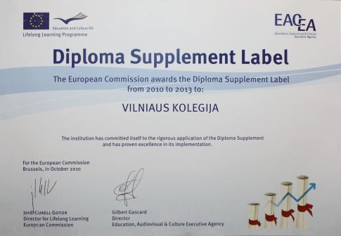 Diplomo etiketė
