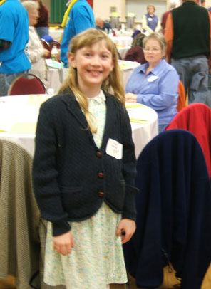 Anna - 2007 Jr. Beekeeper of the Year - Maine State Beekeepers Association
