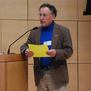 Matt Scott, retired State of Maine Aquatic Biologist and re-founder of the Maine State Beekeepers Association