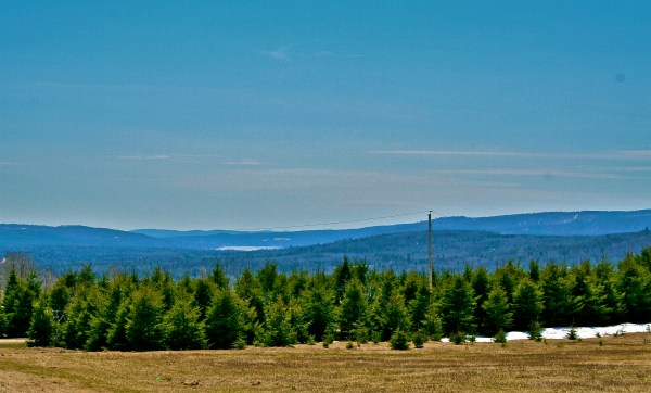 Beautiful Northern Maine. A View from Soldier Pond looking out towards Eagle Lake in the Distance.