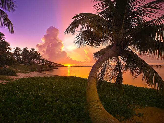 10 уголков планеты, где можно увидеть самые красивые закаты