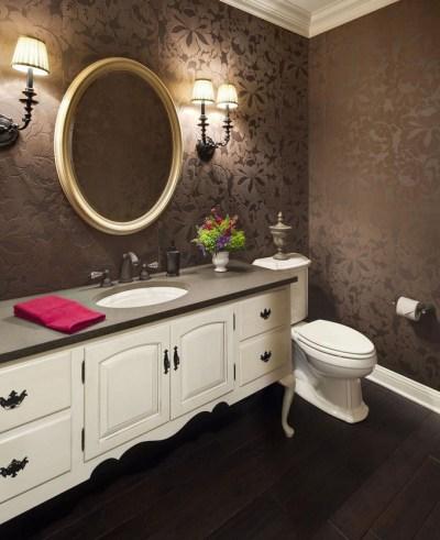 Gorgeous Wallpaper Ideas for your Modern Bathroom