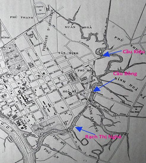 19-Bản đồ 1903 in memory of Plan Doumer