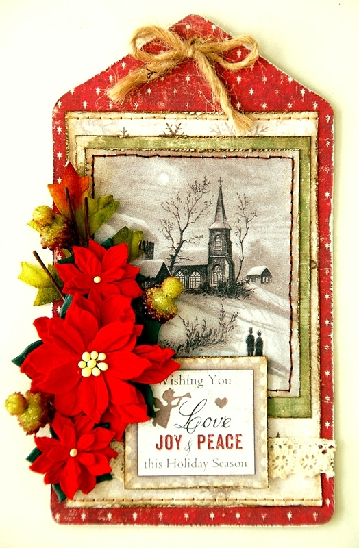 Joy and Peace Card by Irene Tan 1
