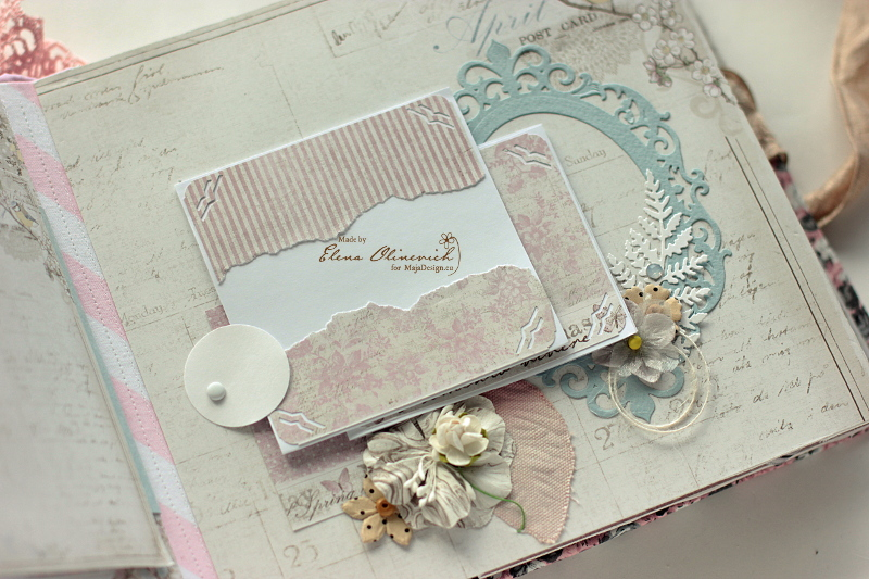 Floral Handmade Album by Elena Olinevich 5