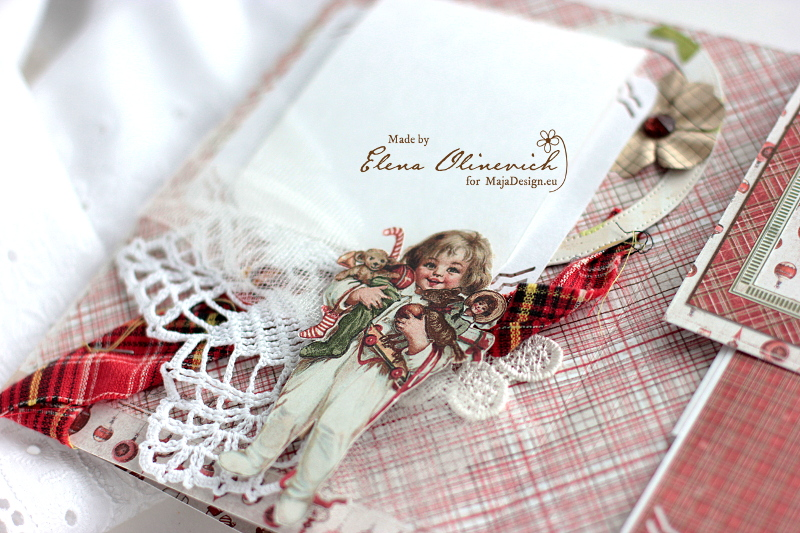 Winter is Magic Mini Album, by Elena Olinevich, Maja Design, photo4