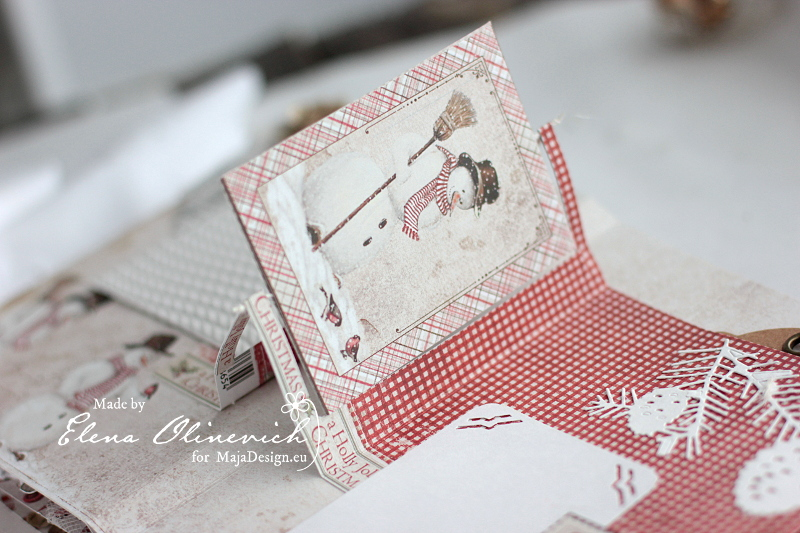 Winter is Magic Mini Album, by Elena Olinevich, Maja Design, photo5
