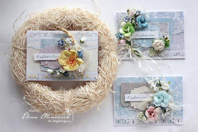 Spring Floral Cards Maja DEsign4