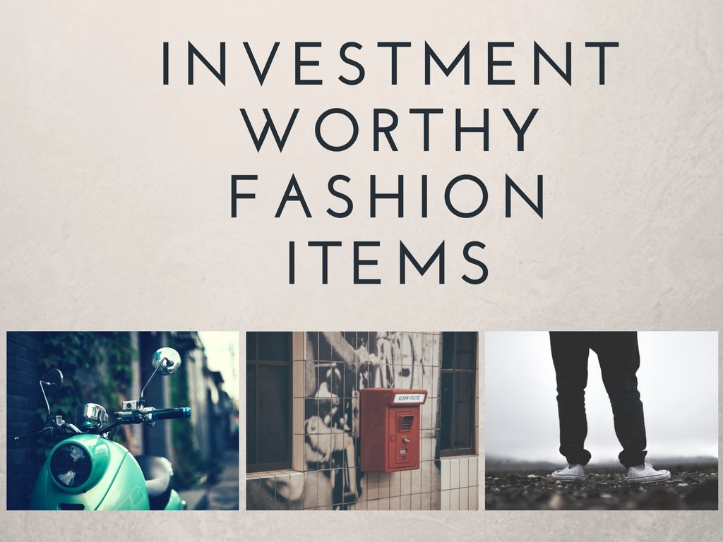 Investment Worthy Fashion Items, Coats