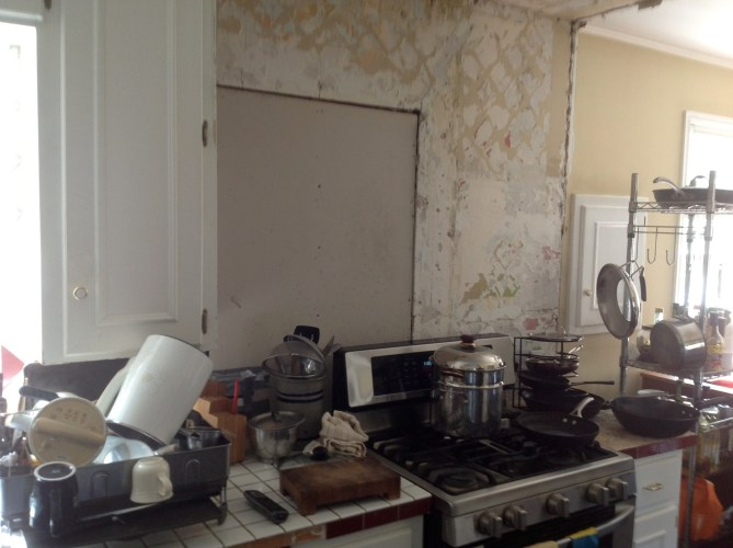 majesticconstructionok kitchen remodel okc Before image of kitchen remodel from Majestic Construction OK