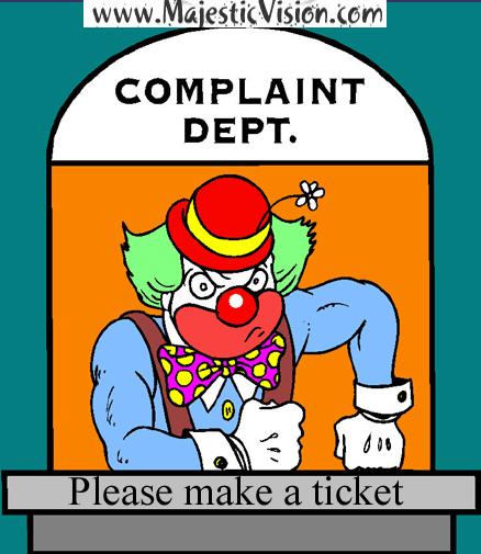 Complaint-Ticket-Clown-Majestic-Vision