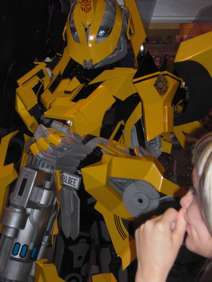 An awesome Bumble Bee Costume