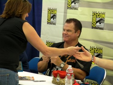 """Jerry """"The King"""" Lawler. I think Julian took this one for Matthew."""