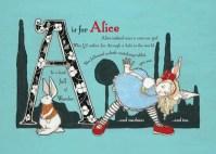 Wonderland Alphabet Preview-PG1
