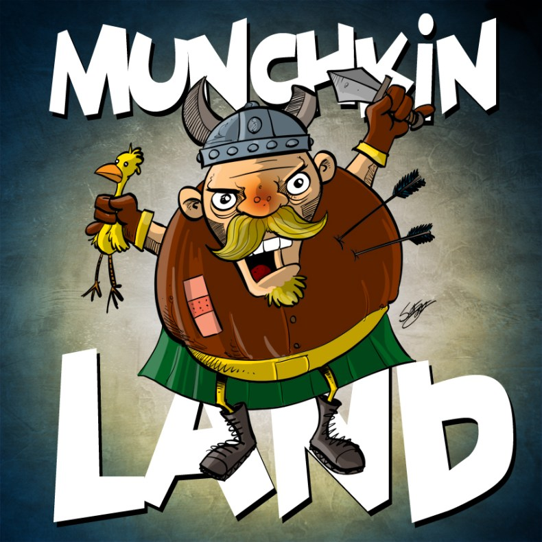 munchkinland album art