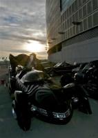 Batmobile Tour at Sunrise in Cincinnati
