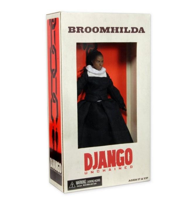 Django Figures-Broomhilda