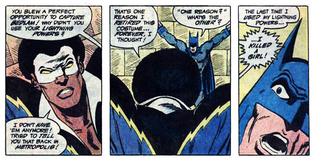 "[Barr, MIke W. & Aparo, Jim (w), Aparo, Jim (p&i).] ""Markovia's Last Stand!"" Batman & The Outsiders Vol. 1 #2 (September 1983), p.5, DC Comics Inc."