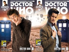 Doctor Who Tenth Doctor and Eleventh Doctor #1 SDCC BBC shop variant
