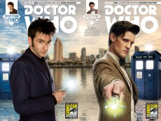 Doctor Who Tenth Doctor and Eleventh Doctor #1 SDCC Titan Comics variant