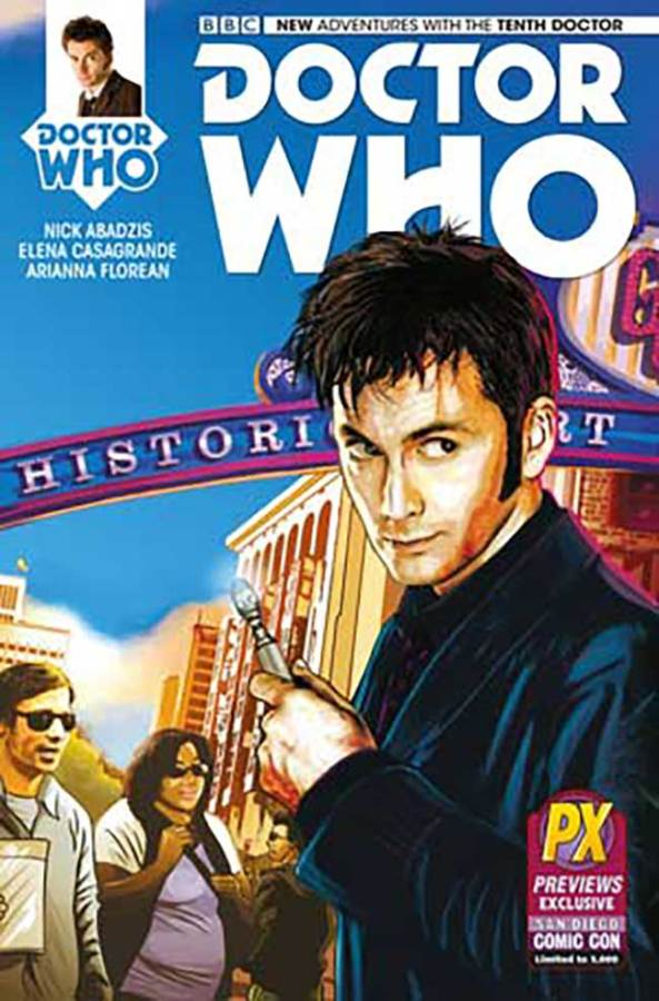 SDCC10thDoctorWhoComic