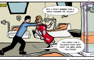 Red Shirt Diaries Webcomic 4 Feature Image