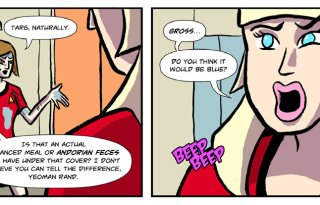 The Red Shirt Diaries web comic 03 Feature Image