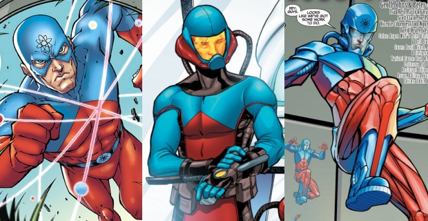 Arrow-The-Atom-Comic-Costume-Suits
