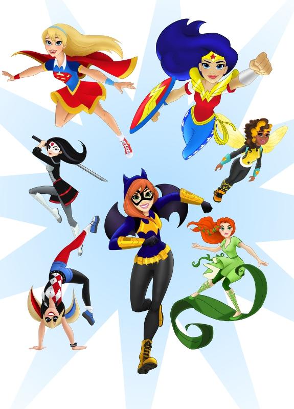 DC Entertainment Girls Superheroes